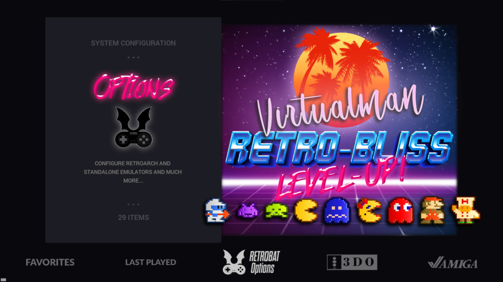 Small token of how much we love RetroBat - added dedicated artwork to one of our custom theme Lock-Down Dark Unknow10