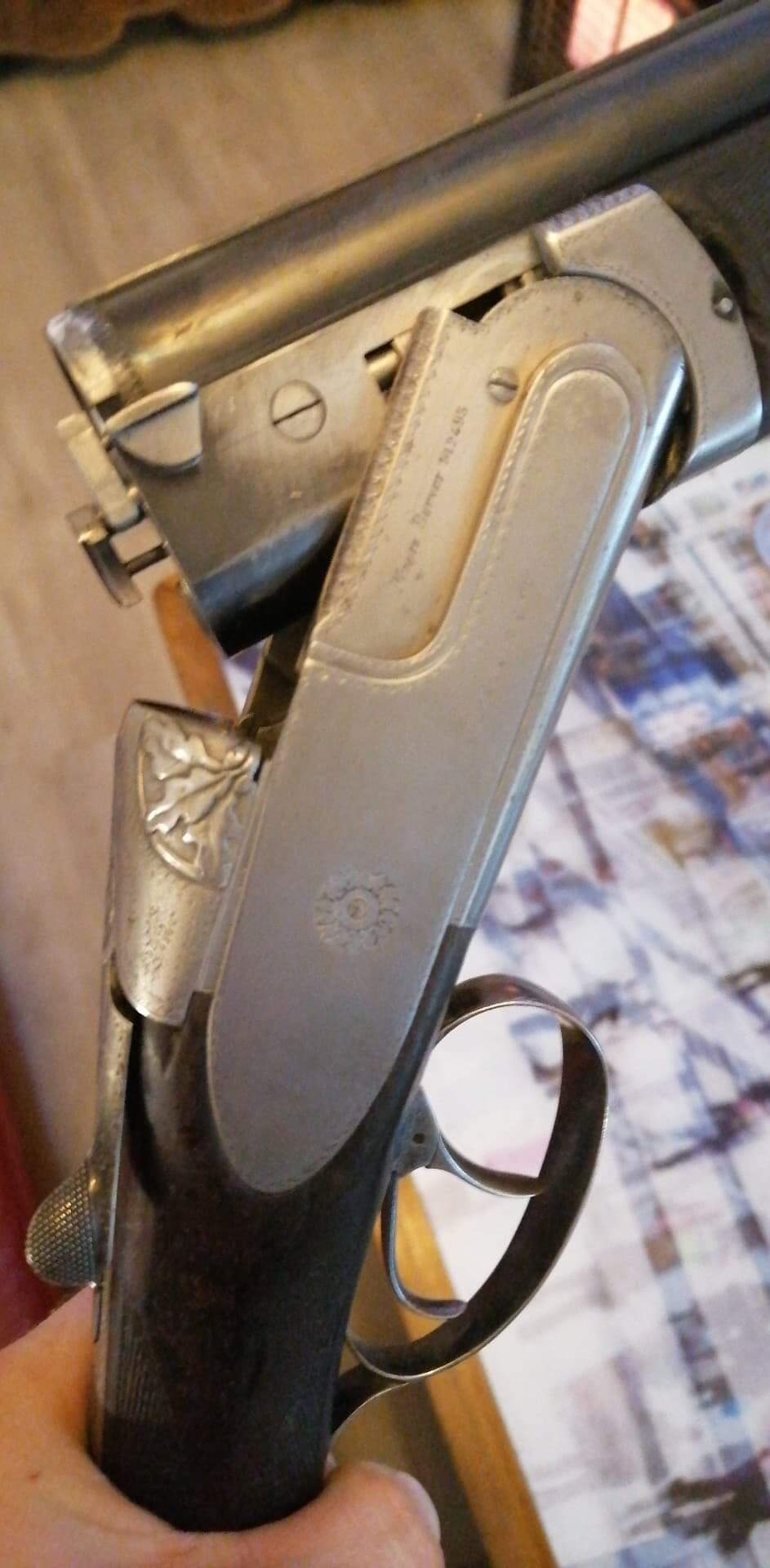 Besoin information fusil petrik canon francotte Receiv12