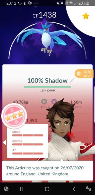 100% Shadow Articuno from Gofest :P Arti10