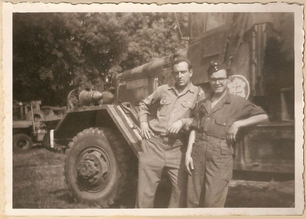 partage mémoire André LECLERC Sgt-MdL ?  Groupe G.T.R  2°DB 1944-010