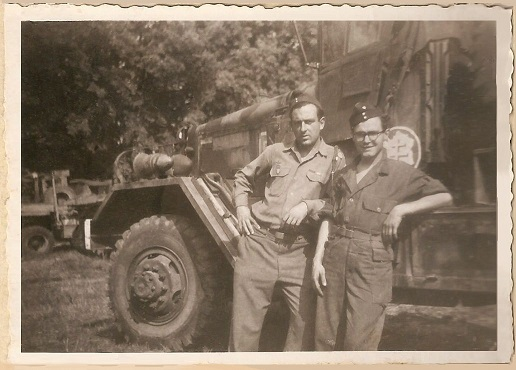 partage mémoire André LECLERC Sgt-MdL ?  Groupe G.T.R  2°DB 1944-016