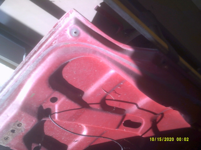 1973 chevelle rust free deck lid 00510
