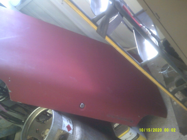 1973 chevelle rust free deck lid 00610