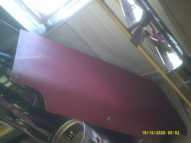 1973 chevelle rust free deck lid 00710