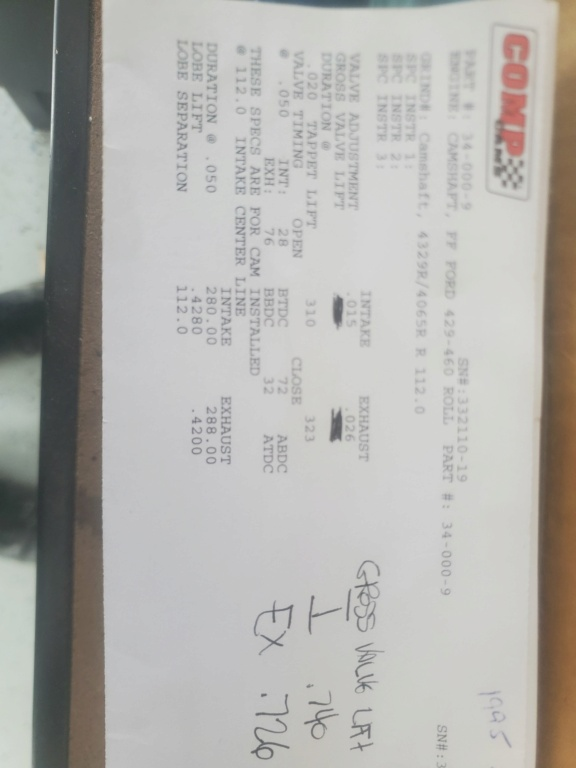 Comp solid roller cam (new) Cam10