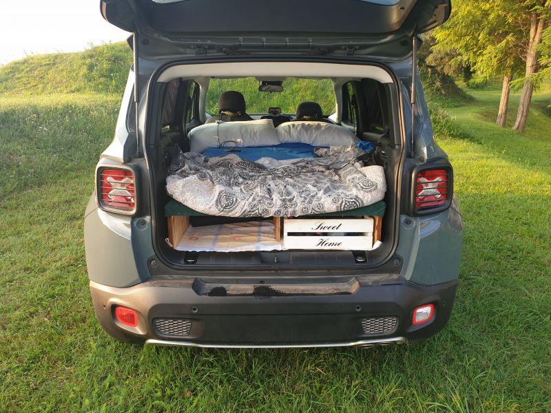 La mia Jeep Renegade 2WD 20200911