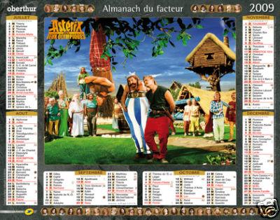 Nouveau calendrier Astérix 2009 76b1_111