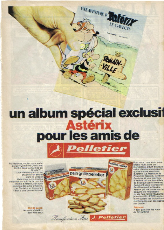 Pubs avec Asterix M110
