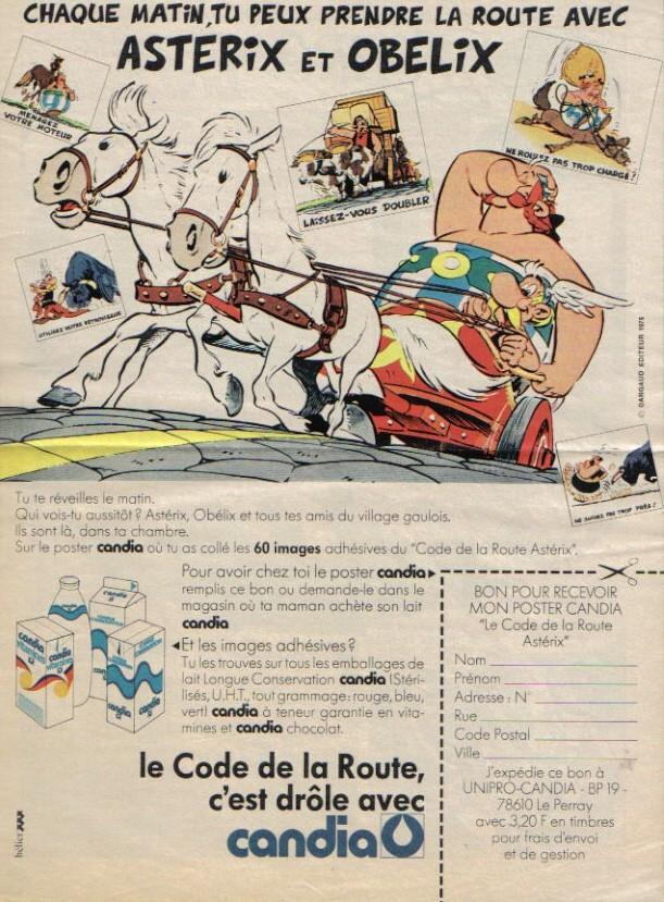 Pubs avec Asterix M610