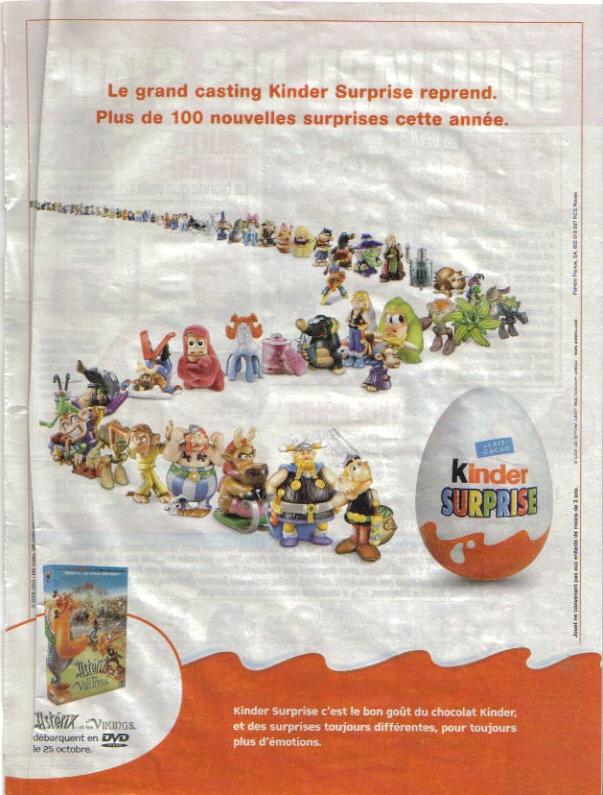 Pubs avec Asterix M710