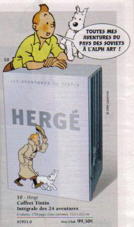 Coffret intégrale Tintin O12