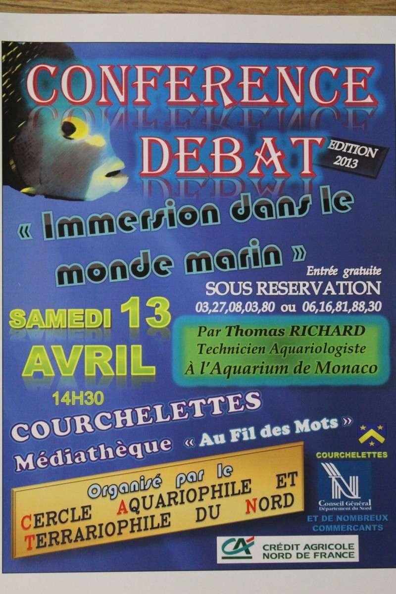 Conférence Aquariophile – Débat  Courchelettes  Confer10