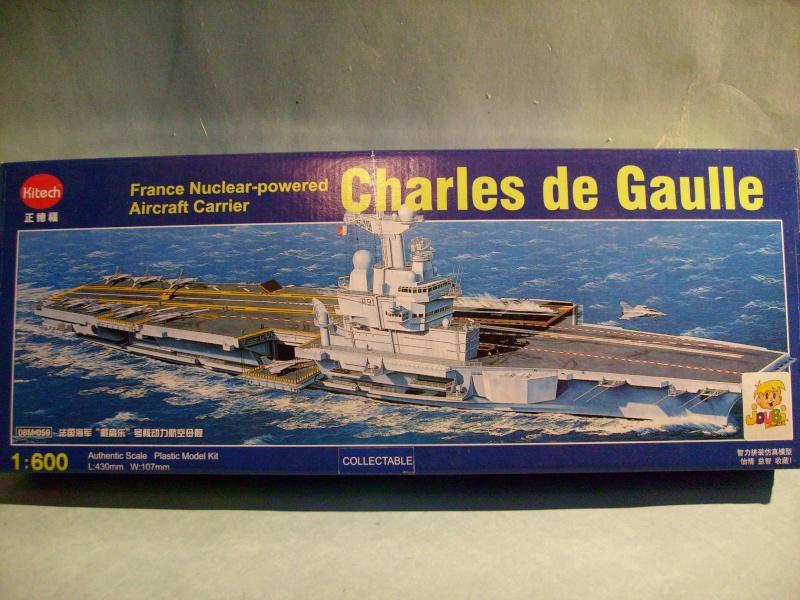 [KITECH] Porte-avions CHARLES DE GAULLE 1/600ème Réf 08M-059 S7301245