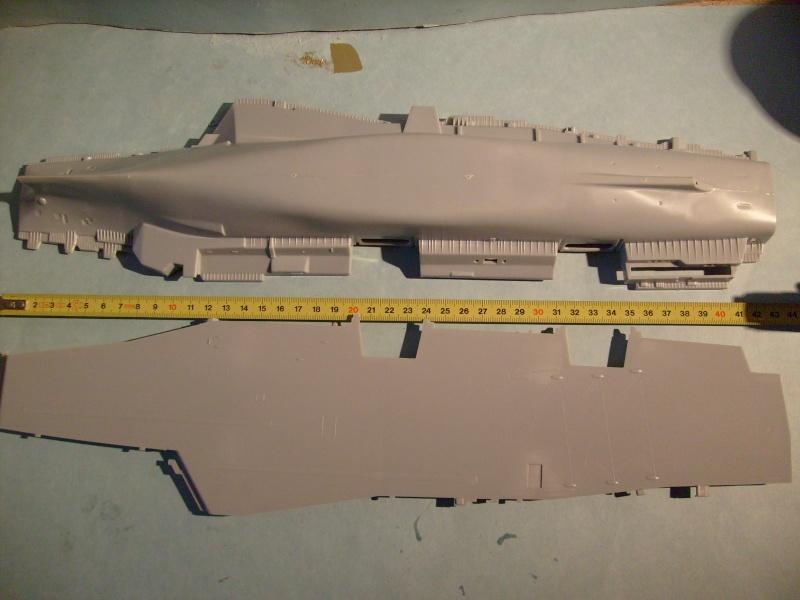 [KITECH] Porte-avions CHARLES DE GAULLE 1/600ème Réf 08M-059 S7301246