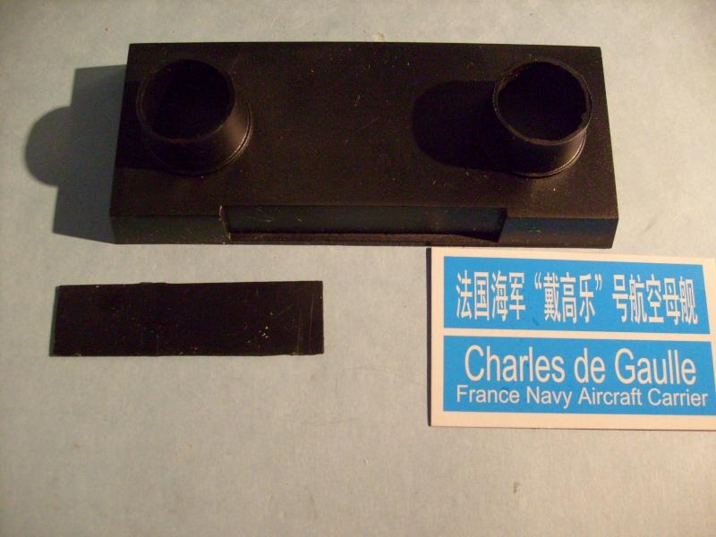 [KITECH] Porte-avions CHARLES DE GAULLE 1/600ème Réf 08M-059 S7301265