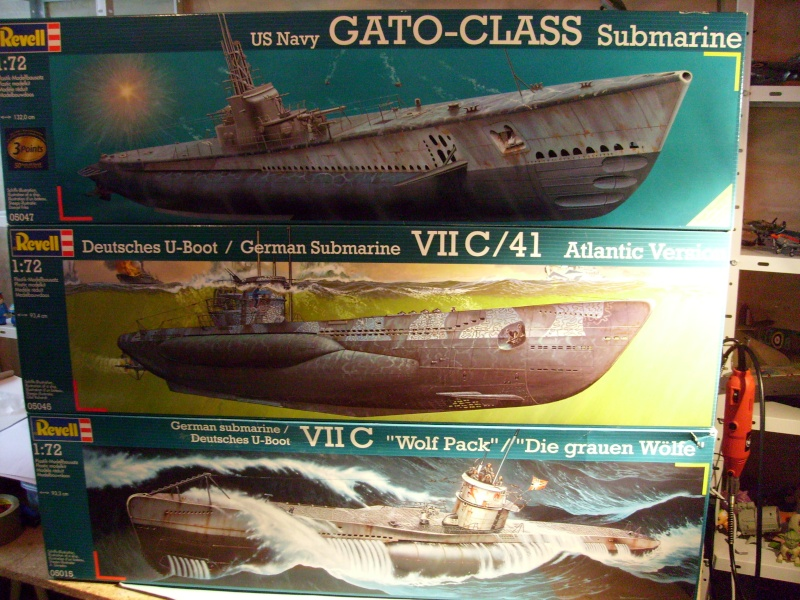 "[Revell] Deutsche U-Boot / German Submarine VII C / ""Wolf pack"" S7302023"