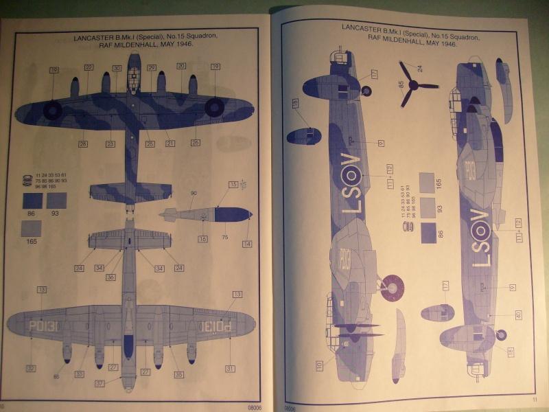 Comparatif AVRO LANCASTER B1 SPECIAL vs AVRO LANCASTER BIII DAM BUSTER 1/72èmeme S7302118