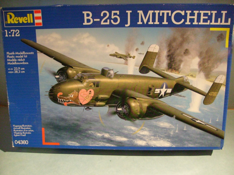 Comparatif NORTH AMERICAN B 25 MITCHELL 1/72ème S7302258