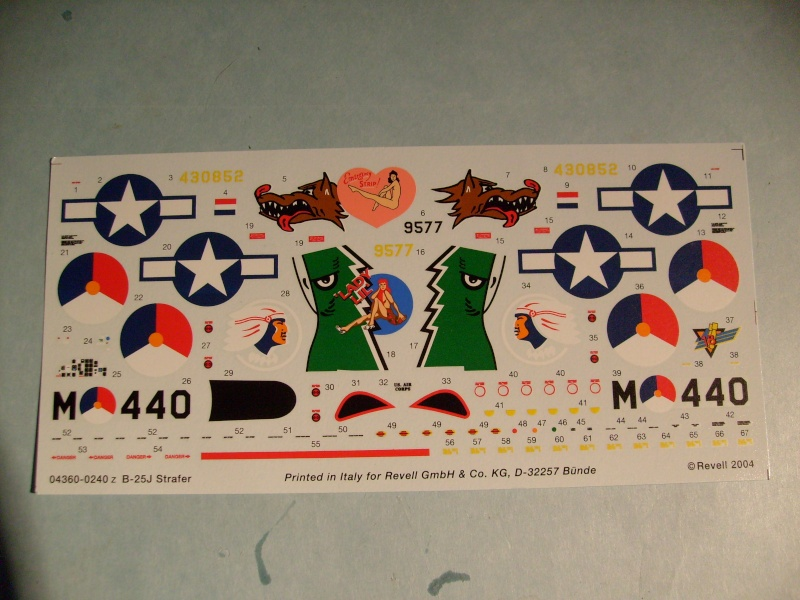 Comparatif NORTH AMERICAN B 25 MITCHELL 1/72ème S7302262
