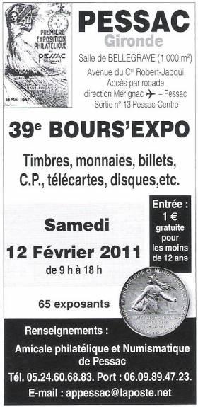 FEVRIER 2011 - Bourses et salons numismatiques   98485010