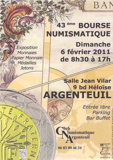 FEVRIER 2011 - Bourses et salons numismatiques   Bourse11