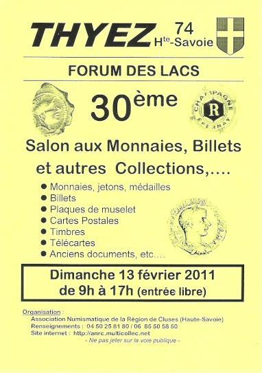 FEVRIER 2011 - Bourses et salons numismatiques   Bourse14