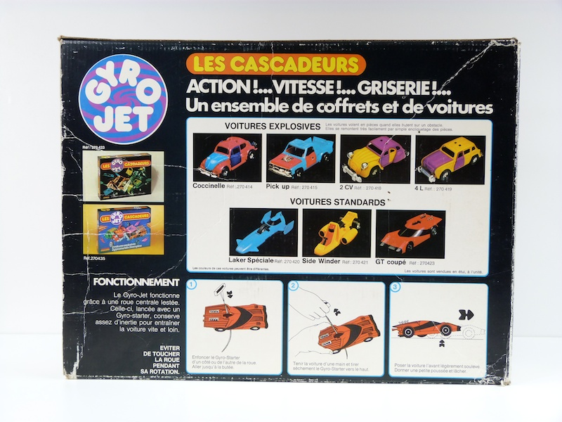 Cascadeurs Giro Jet et  Kenner SSP racers Gyroje11