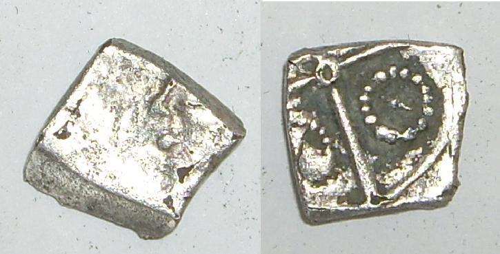 Drachme du type de Goutrens- Ier siècle avant J.-C - RUTÈNES Goutre12