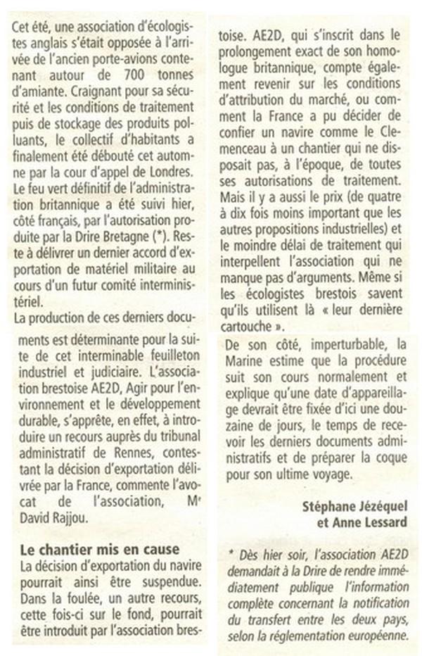 Démantèlement du Clemenceau et Colbert... - Page 3 Ex210