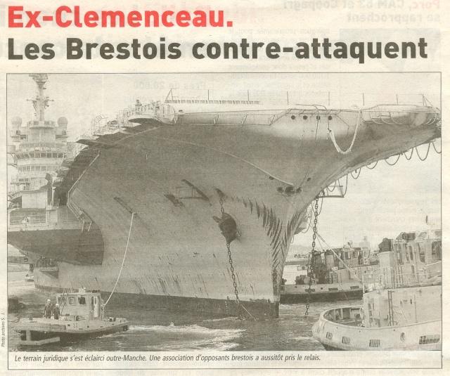 Démantèlement du Clemenceau et Colbert... - Page 3 Numari31