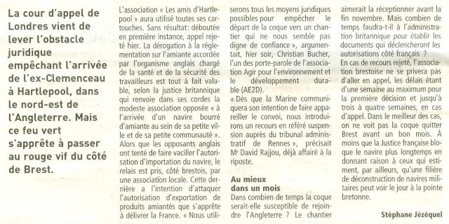 Démantèlement du Clemenceau et Colbert... - Page 3 Numari32