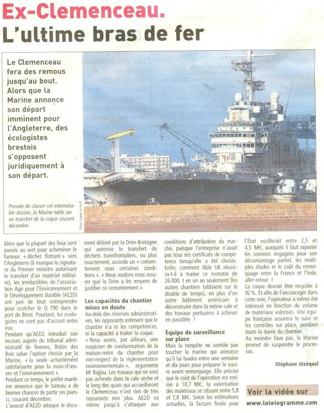 Démantèlement du Clemenceau et Colbert... - Page 3 Numari46