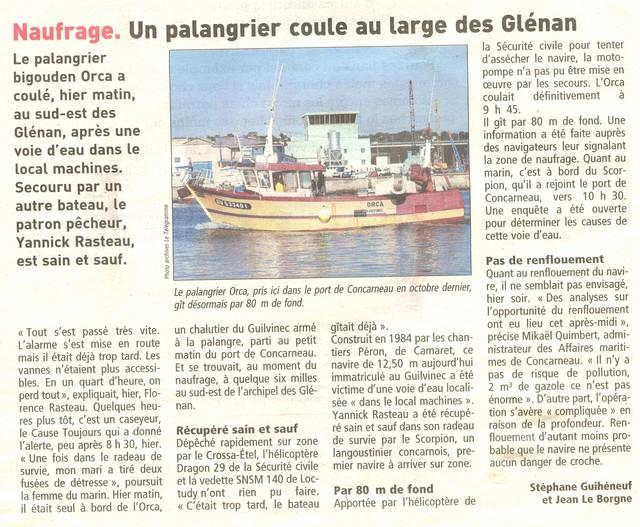 [VIE DES PORTS] Quelques bateaux de pêche (sur nos côtes Françaises) - Page 7 Orca10