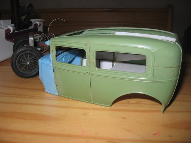 FORD Sedan nostalgia 1931... TERMINé Img_6211