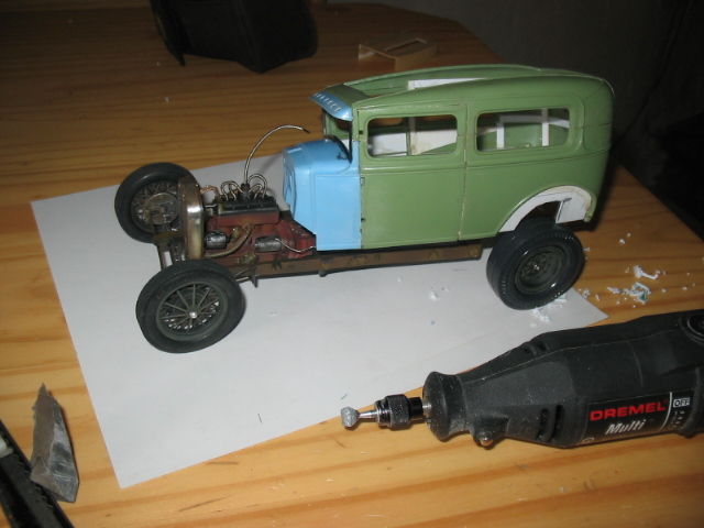 FORD Sedan nostalgia 1931... TERMINé Img_6212