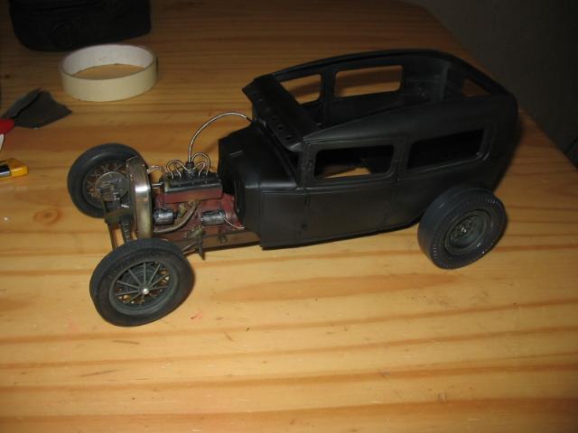 FORD Sedan nostalgia 1931... TERMINé Img_6216