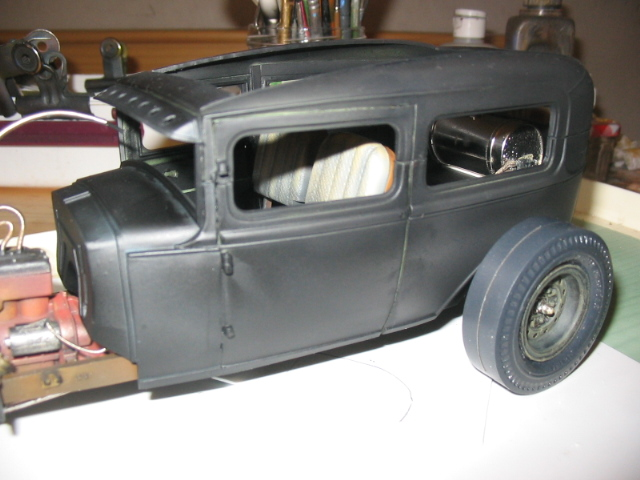 FORD Sedan nostalgia 1931... TERMINé Img_6223
