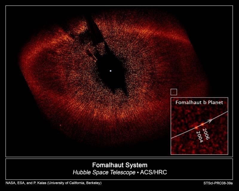 Hubble observe une exoplanète autour de Formalhaut 28989910