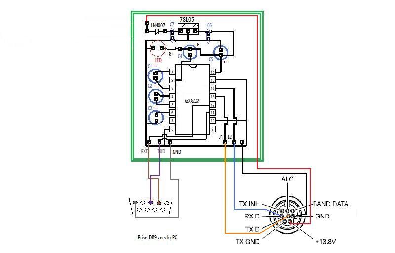 Interface pour le FT-817 Schema10