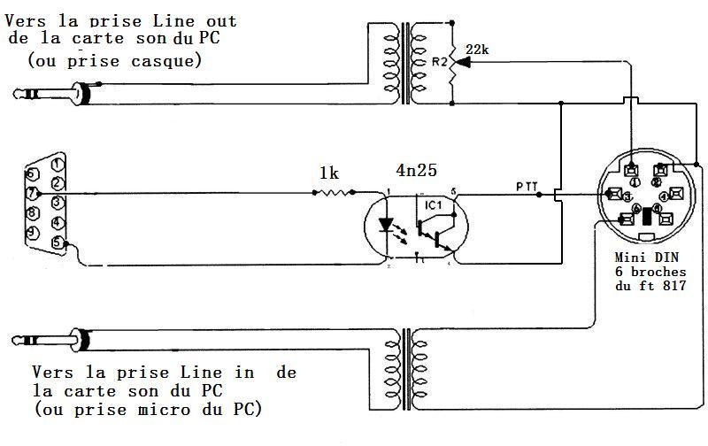Interface pour le FT-817 Schema11