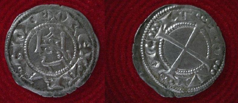 Dinero de Alfonso I (1104-1134) Final10