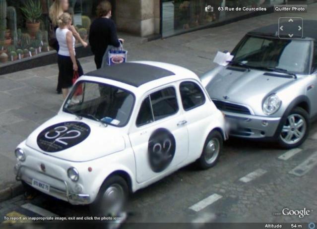 STREET VIEW : belles voitures (France) - Page 2 F500sv10