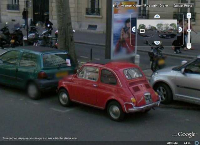 STREET VIEW : belles voitures (France) - Page 2 Fiat5010