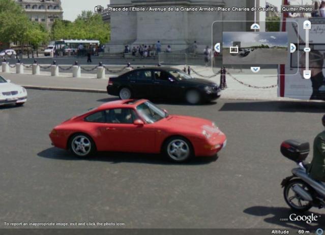 STREET VIEW : belles voitures (France) - Page 2 Porsch10