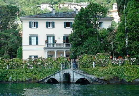 George Clooney's House in Lake Como, Milan, Italy Como110