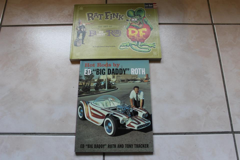 "Livres sur Ed ""Big Daddy""Roth + mag Big Block et Rod Kustom 55673111"