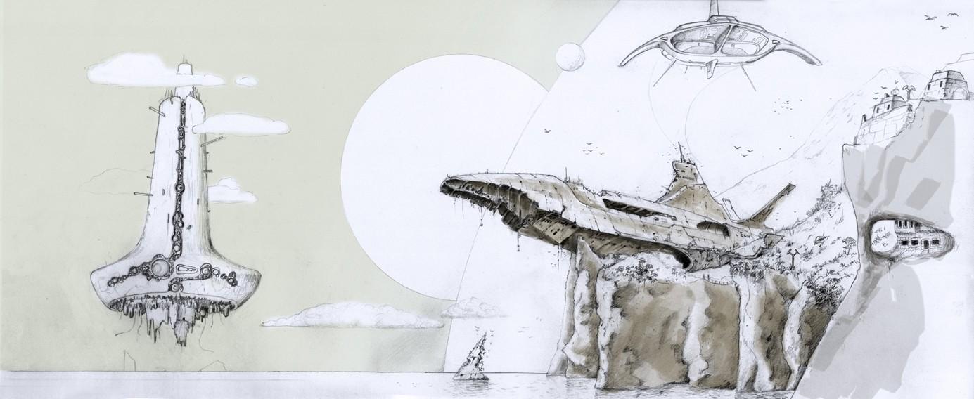 Nos coups de crayon, dessins et autres gribouillis... Erebus11