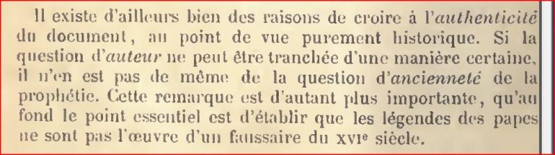 De la pseudo-prophétie faussement attribuée à Saint Malachie - Page 2 P310