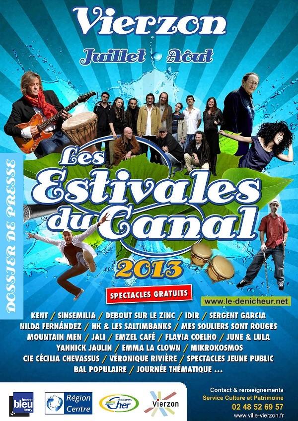 [JUILLET-AOUT] - VIERZON - Les Estivales du Canal 07-20110