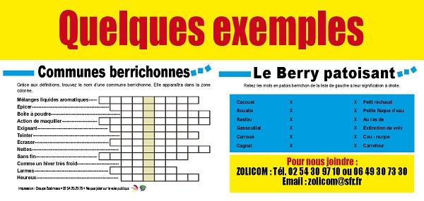 JEUX EN BERRY MAGAZINE - Jouer et voyager en Berry - Indre et Cher Jeux-b10